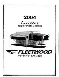 2004 Coleman Popup Camper Repair Parts Manuals - Camper Solutions